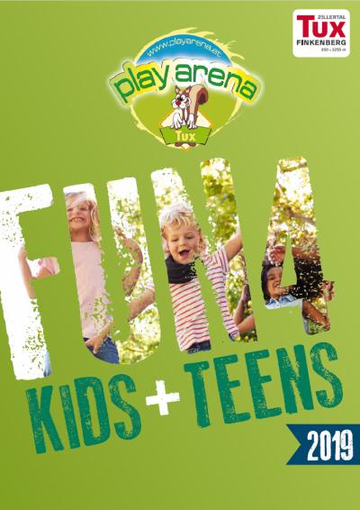 Broschüre für Kids und Teens