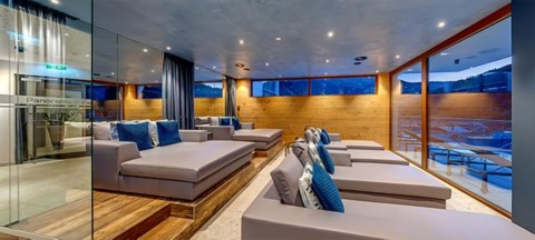 Panorama relaxation room